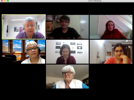 Screen capture of TA101 introduction to Transactional Analysis webinar on Zoom